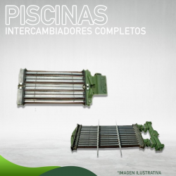 1241-012 Intercambiador Completo para Piscinas para AFJ 420 Masstercal Industrias Mass