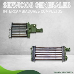 1240-003 Intercambiador Completo para Servicios FIERO FC-100 Masstercal Industrias Mass