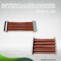 35F-0100 Intercambiador Sencillo Servicios y Piscinas para 125 (S.E.) Masstercal Industrias Mass