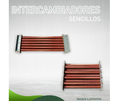 35F-0103 Intercambiador Sencillo Servicios y Piscinas para 325 (S.E.) Masstercal Industrias Mass