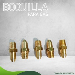 13N-0007 BOQUILLA P/GAS L.P. NIVEL NORMAL CALENTADOR QUEMADOR MiniMasstercal Industrias Mass