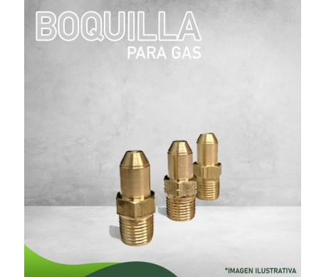 13N-1463 BOQUILLA P/GAS L.P. NIVEL MAR CALENTADOR ETAPAS VERTICAL Y EXTRACTOR Masstercal Industrias Mass