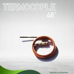 "13E-1029 TERMOCOPLE 48 "" ( 700 - 2800 ) Q-340-A-1108 Masstercal de Industrias Mass"
