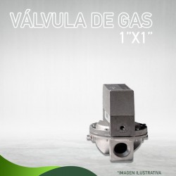 "13N-0719 VÁLVULA DE GAS 1 "" X 1 "" 24 VOLTS Masstercal de Industrias Mass"