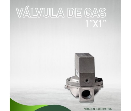 "13E-0063 VÁLVULA DE GAS 1 / 2"" X 3 / 4"" 24 VOLTS Masstercal de Industrias Mass"