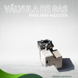 13E-1037 VÁLVULA DE GAS PARA MINI-MASSTER Masstercal de Industrias Mass