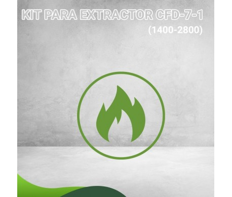 34F-8781 KIT PARA EXTRACTOR CFD-7-1 (1400-2800) Masstercal de Industrias Mass