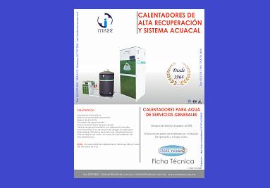 Ficha Calentadores Acuacal (con Tanque)
