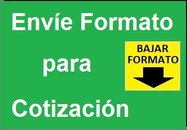 Llenar el Formato Simple agiliza la Cotización